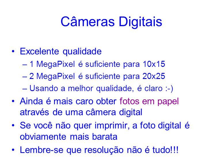 Câmeras Digitais Excelente qualidade