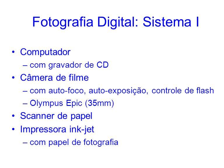 Fotografia Digital: Sistema I
