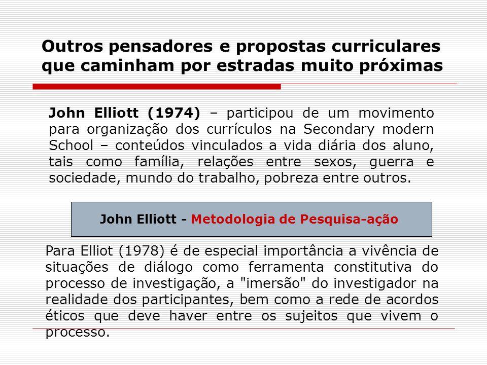 John Elliott - Metodologia de Pesquisa-ação