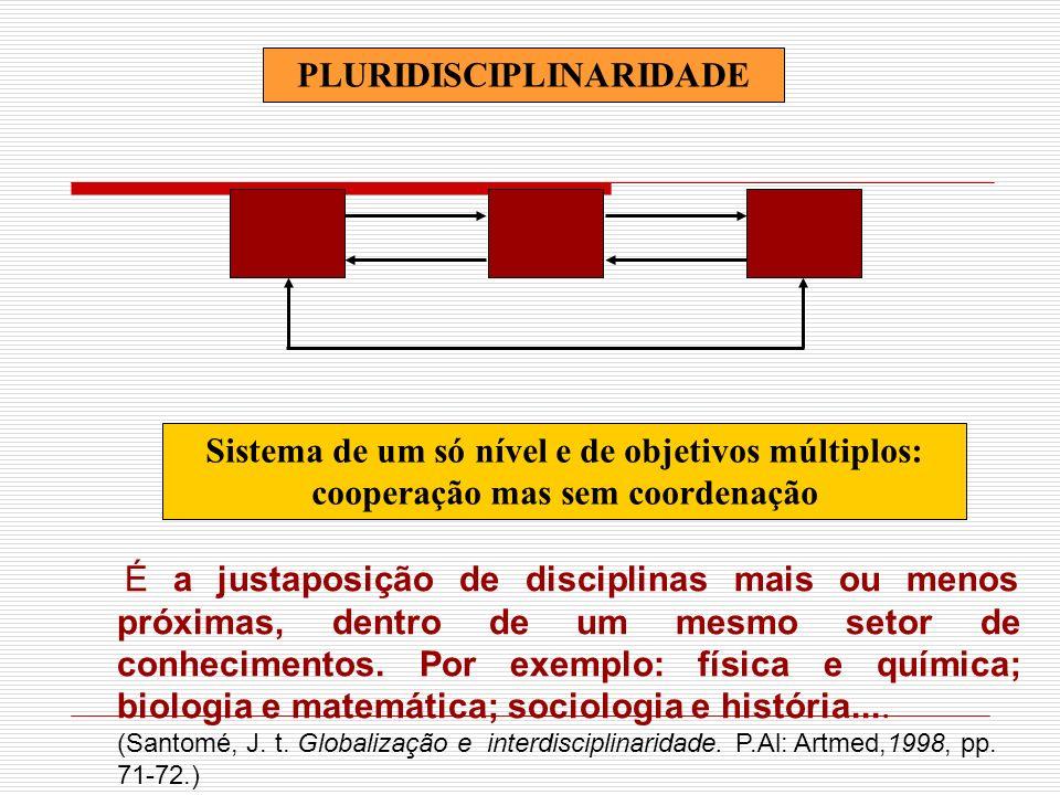 PLURIDISCIPLINARIDADE