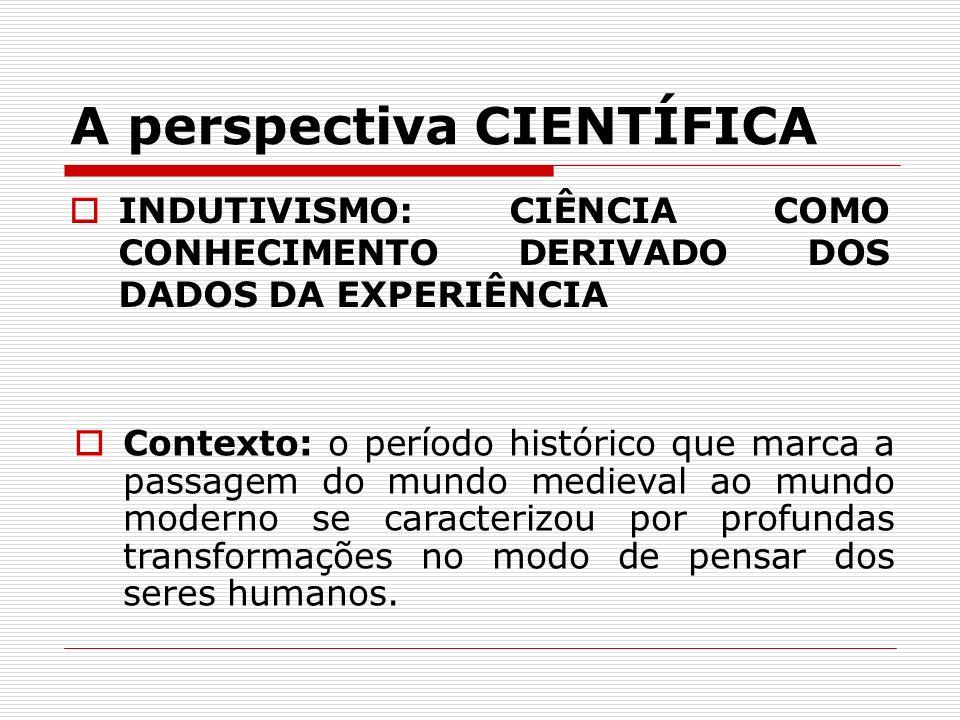 A perspectiva CIENTÍFICA