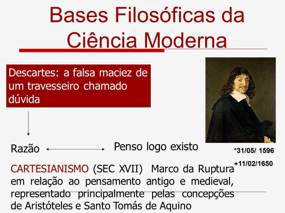 Bases Filosóficas da Ciência Moderna