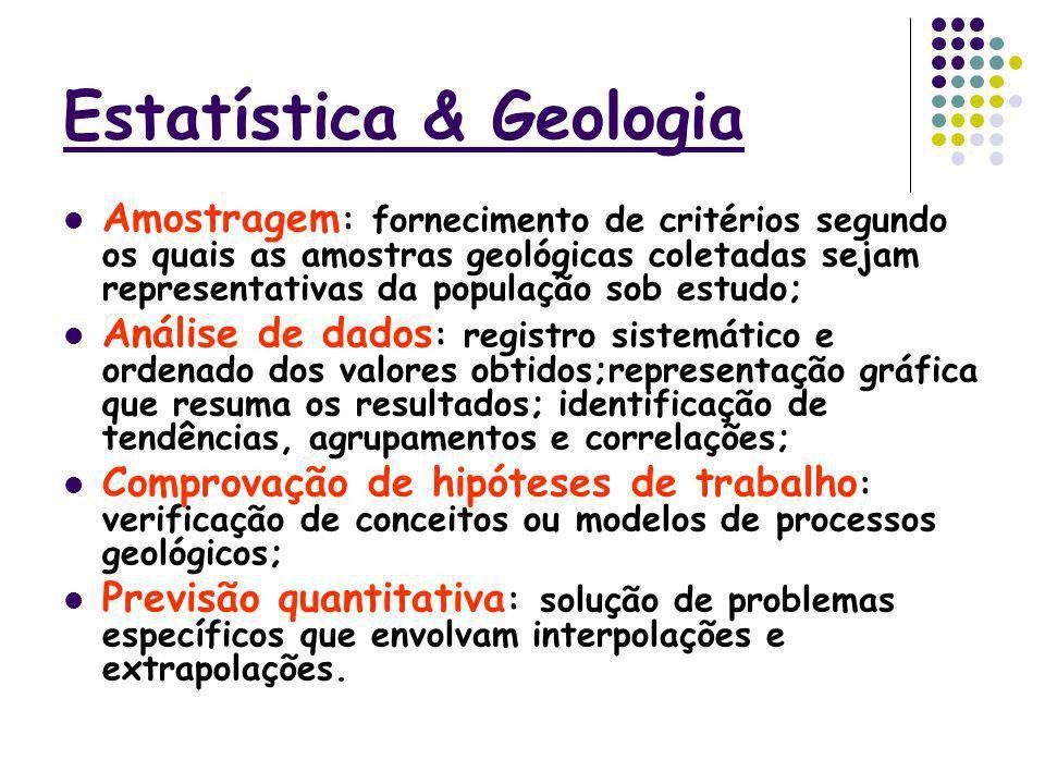 Estatística & Geologia