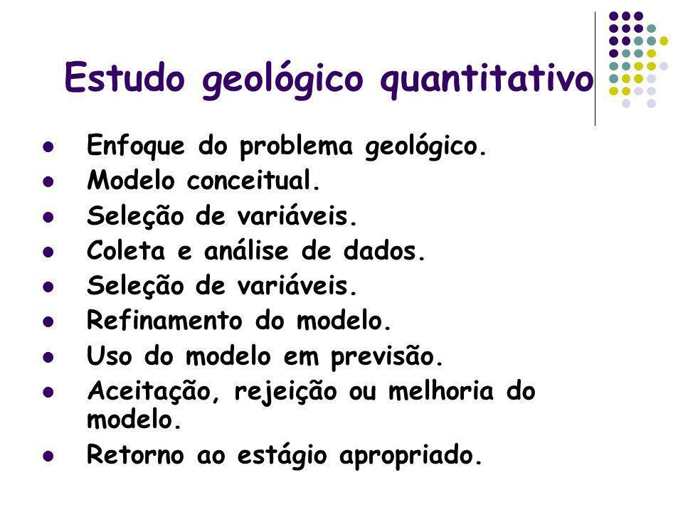 Estudo geológico quantitativo