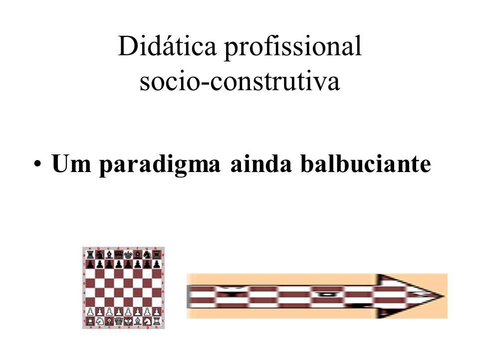 Didática profissional socio-construtiva