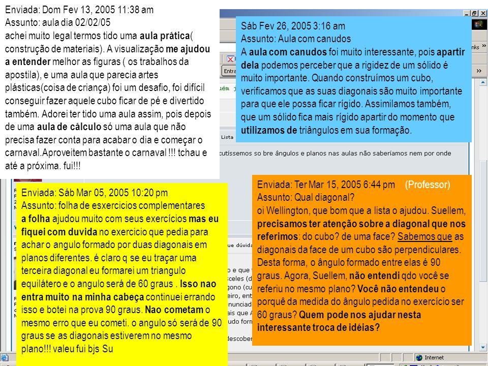 Enviada: Dom Fev 13, 2005 11:38 am Assunto: aula dia 02/02/05.
