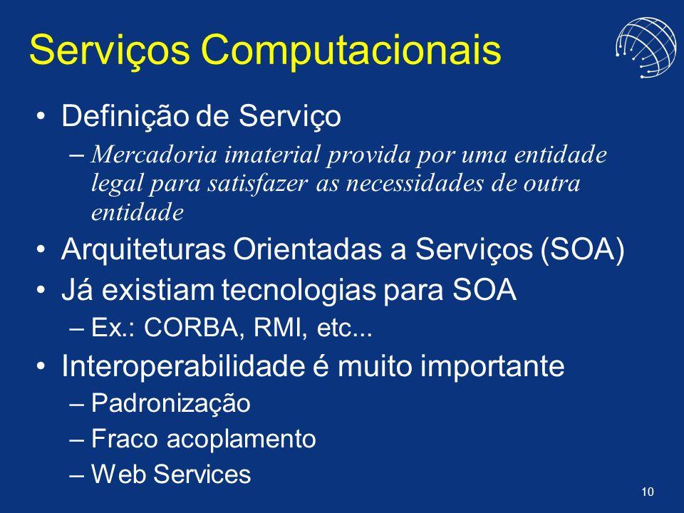 Serviços Computacionais