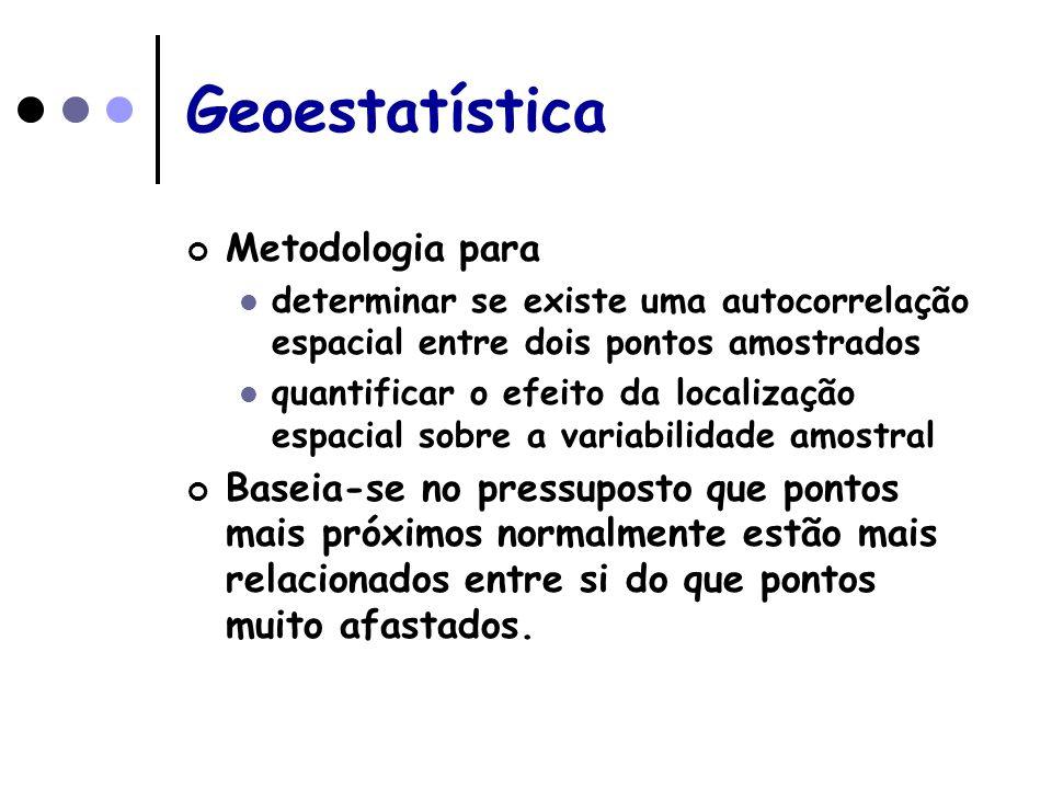 Geoestatística Metodologia para