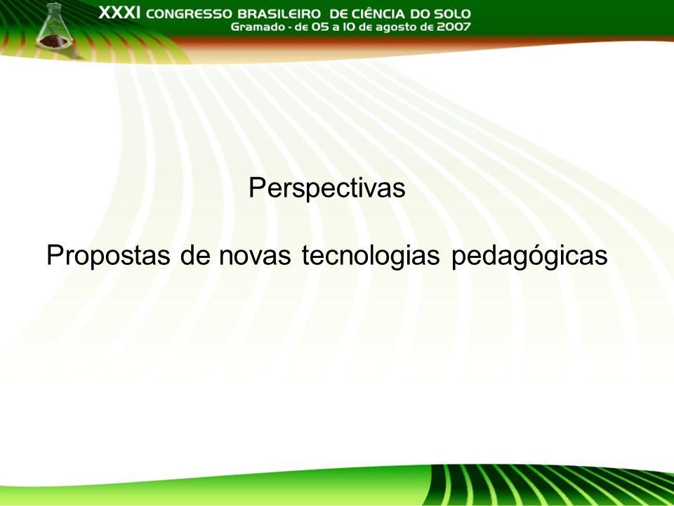 Propostas de novas tecnologias pedagógicas