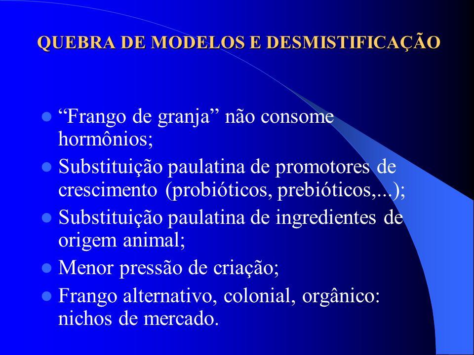 QUEBRA DE MODELOS E DESMISTIFICAÇÃO