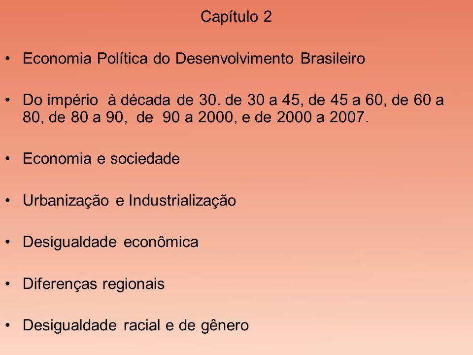 Capítulo 2 Economia Política do Desenvolvimento Brasileiro.