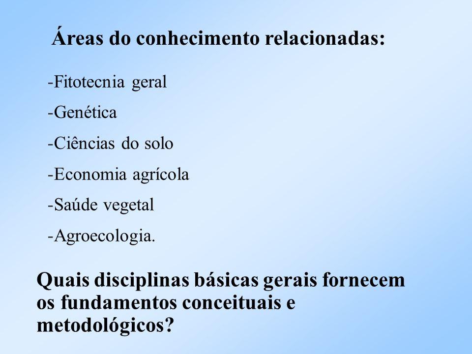 Áreas do conhecimento relacionadas: