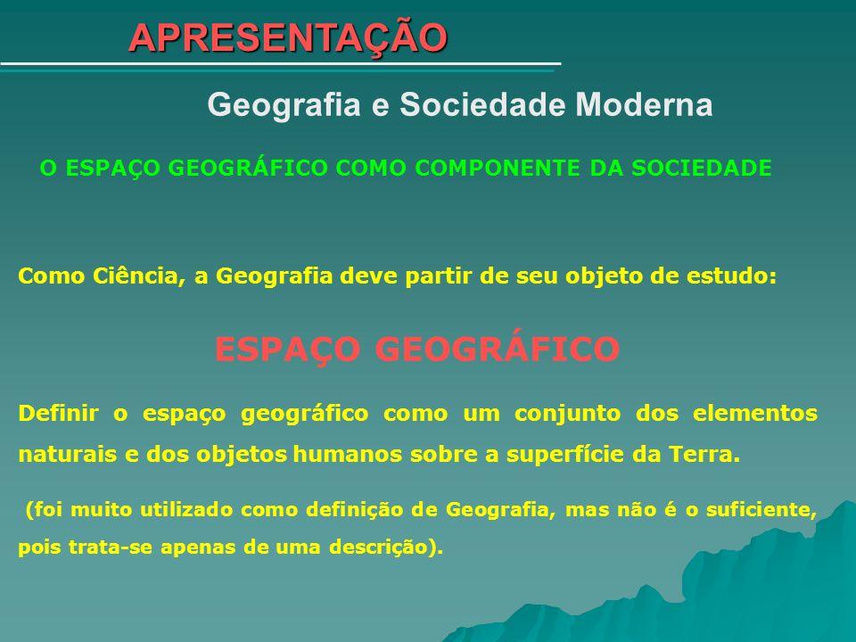 Geografia e Sociedade Moderna