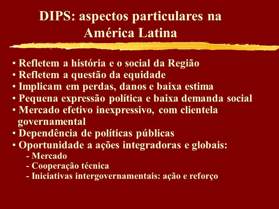 DIPS: aspectos particulares na América Latina