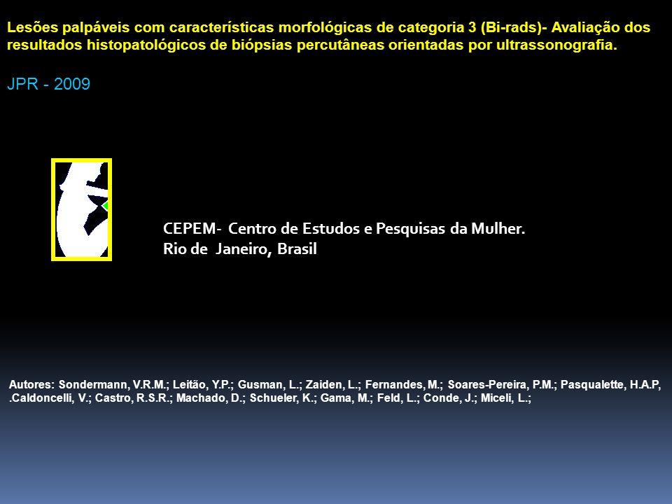 CEPEM- Centro de Estudos e Pesquisas da Mulher. Rio de Janeiro, Brasil
