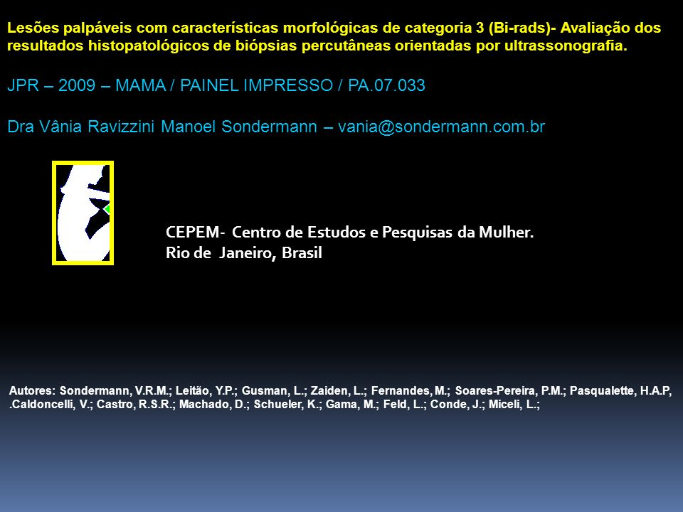 JPR – 2009 – MAMA / PAINEL IMPRESSO / PA.07.033