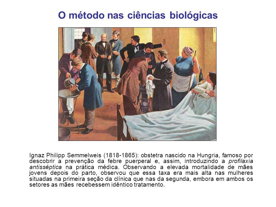 O método nas ciências biológicas