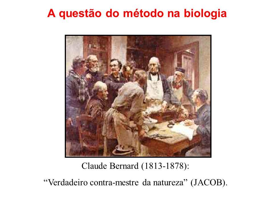 A questão do método na biologia