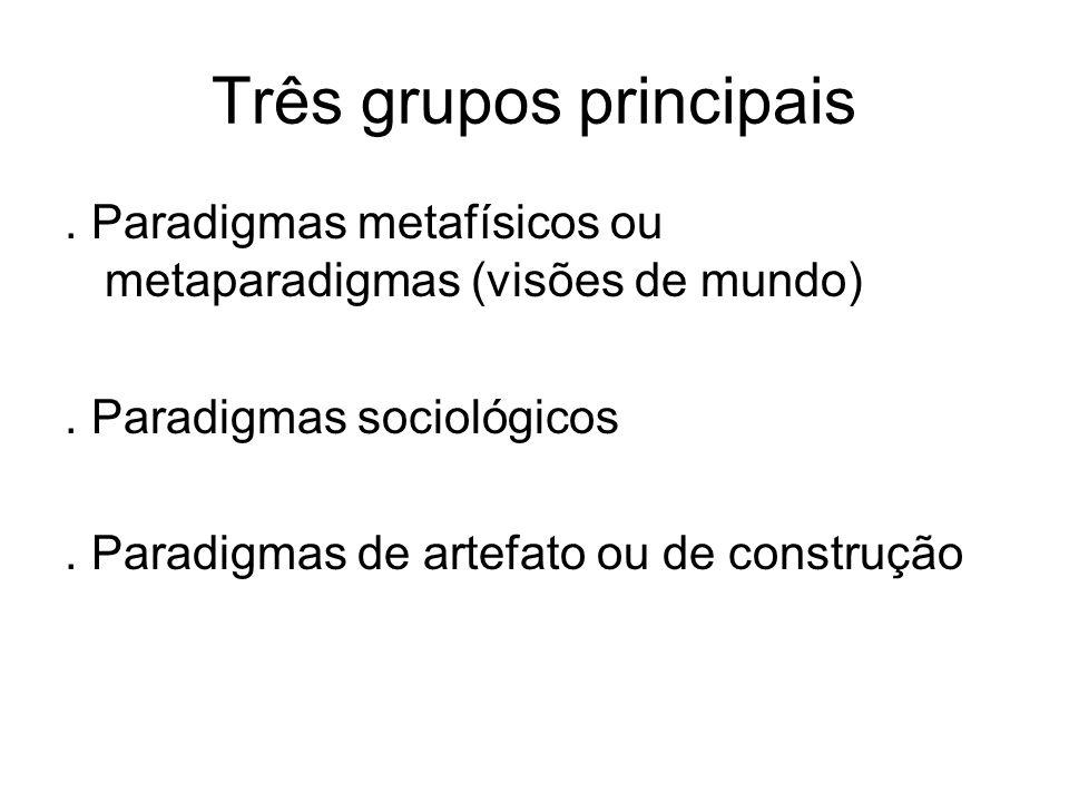 Três grupos principais