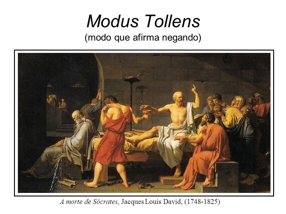 Modus Tollens (modo que afirma negando)