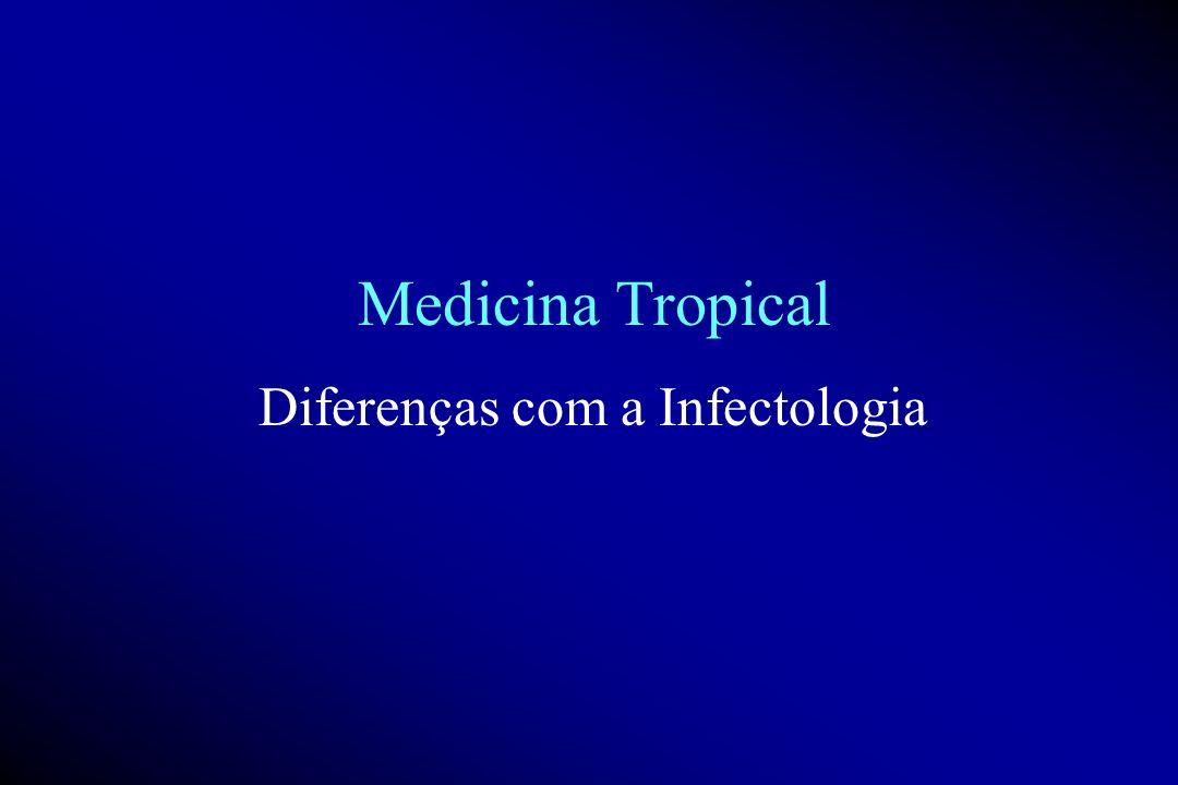 Diferenças com a Infectologia