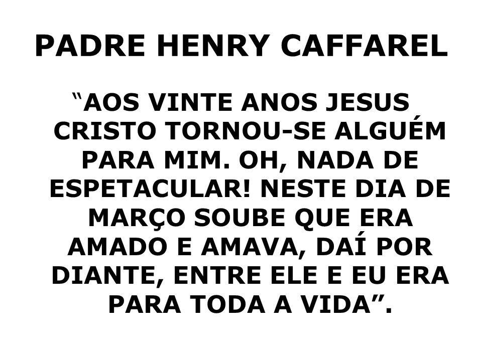 PADRE HENRY CAFFAREL