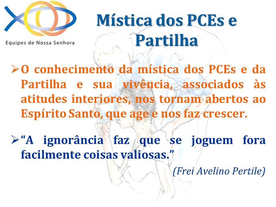 Mística dos PCEs e Partilha
