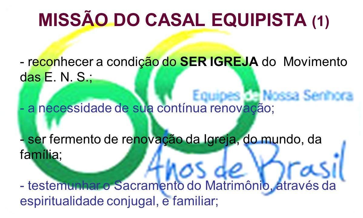 MISSÃO DO CASAL EQUIPISTA (1)