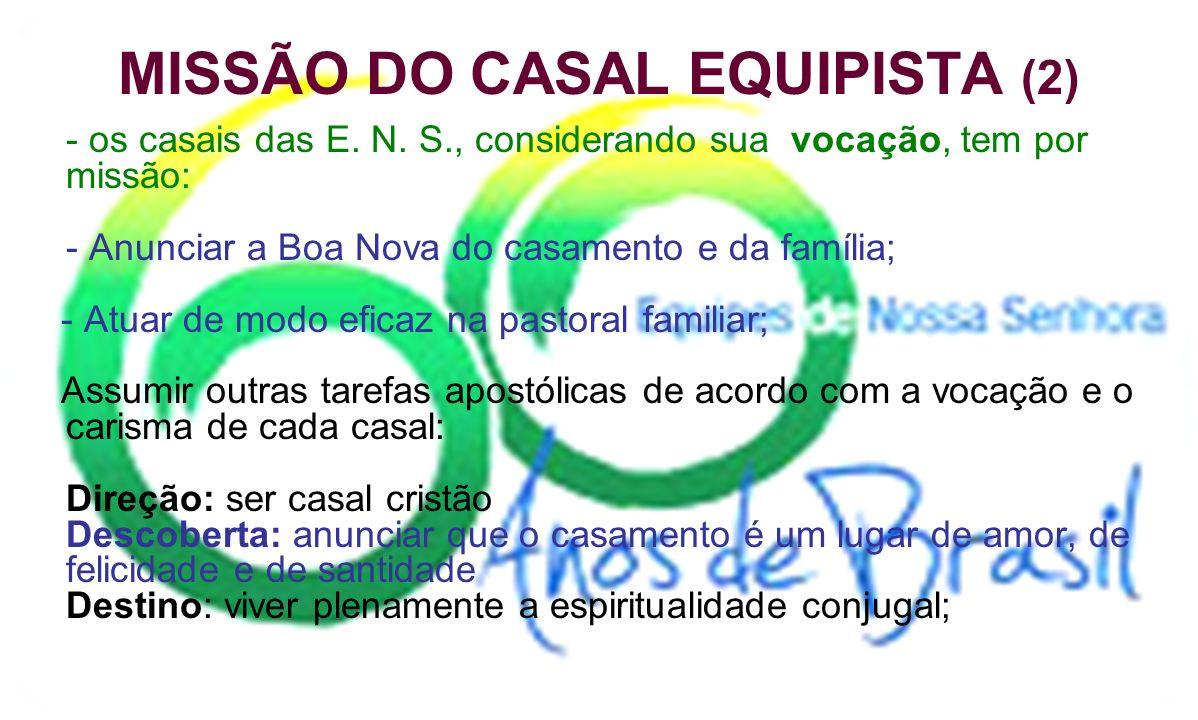 MISSÃO DO CASAL EQUIPISTA (2)