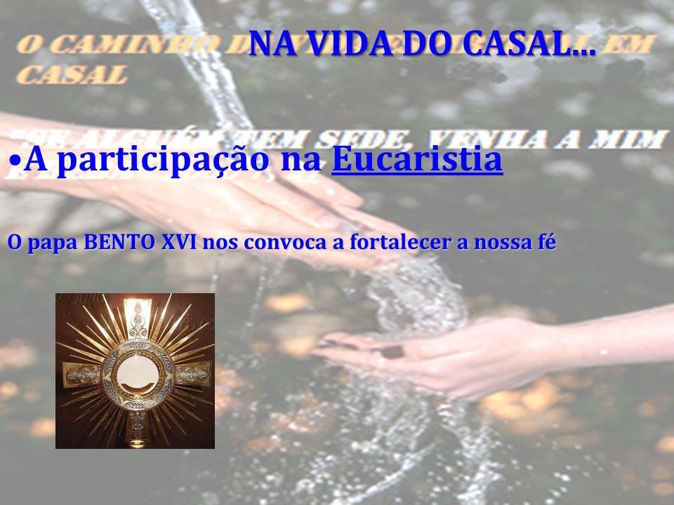 A participação na Eucaristia