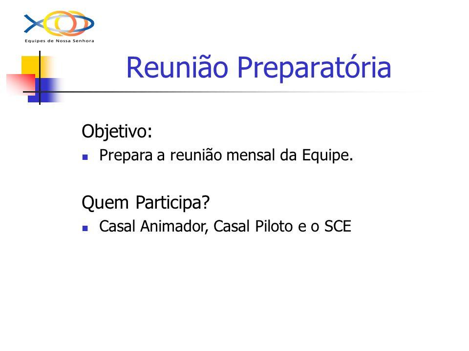 Reunião Preparatória Objetivo: Quem Participa