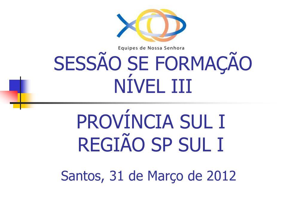 SESSÃO SE FORMAÇÃO NÍVEL III