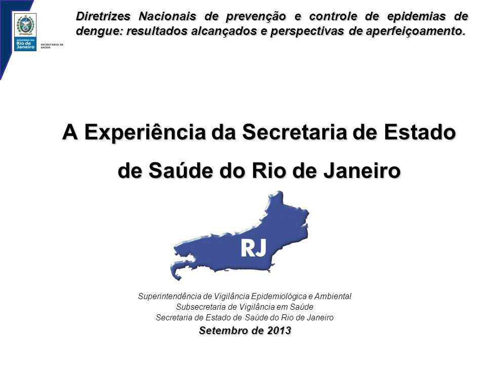 A Experiência da Secretaria de Estado de Saúde do Rio de Janeiro