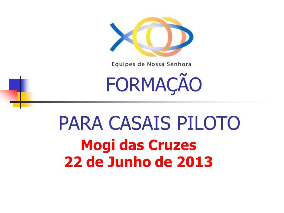 FORMAÇÃO PARA CASAIS PILOTO Mogi das Cruzes 22 de Junho de 2013