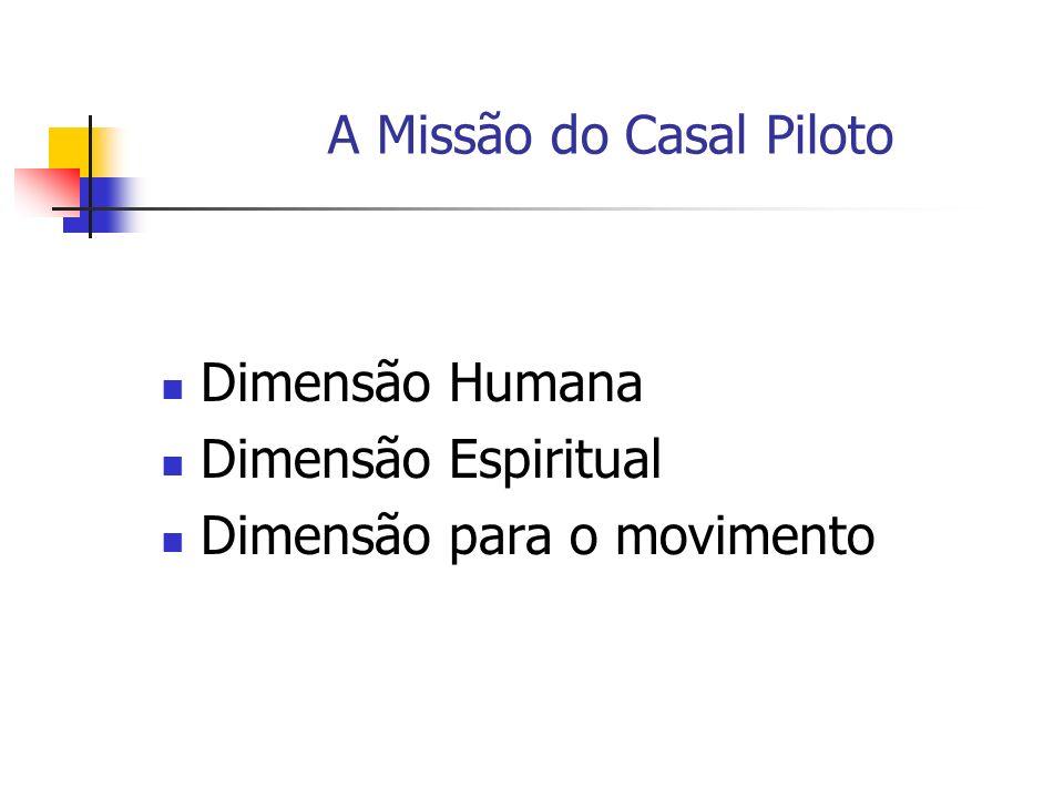 A Missão do Casal Piloto