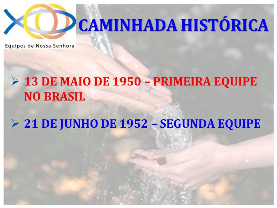 CAMINHADA HISTÓRICA 13 DE MAIO DE 1950 – PRIMEIRA EQUIPE NO BRASIL