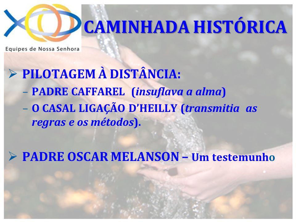 CAMINHADA HISTÓRICA PILOTAGEM À DISTÂNCIA: