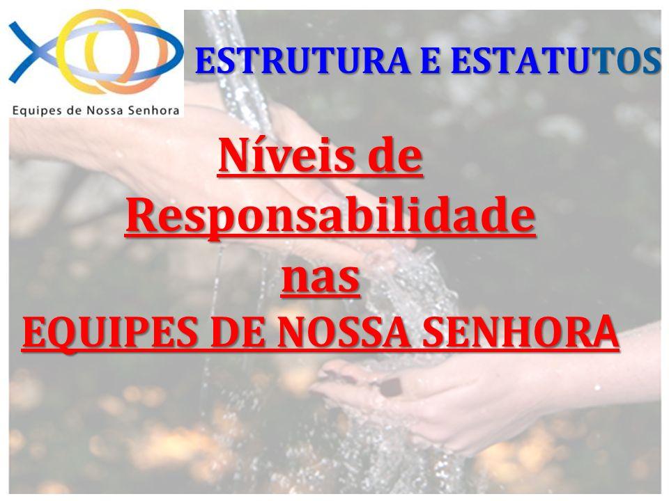 Níveis de Responsabilidade EQUIPES DE NOSSA SENHORA