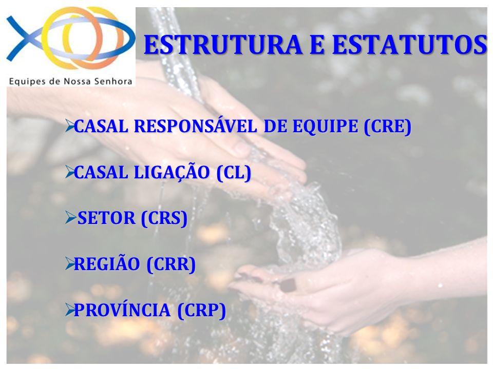ESTRUTURA E ESTATUTOS CASAL RESPONSÁVEL DE EQUIPE (CRE)