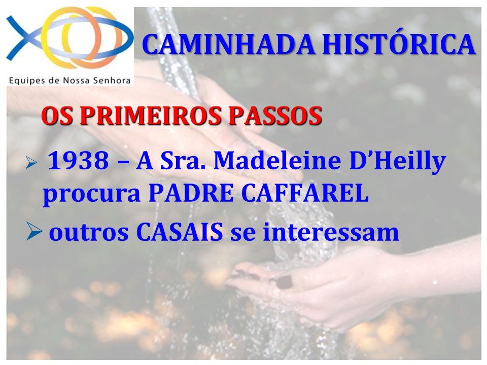 CAMINHADA HISTÓRICA OS PRIMEIROS PASSOS outros CASAIS se interessam