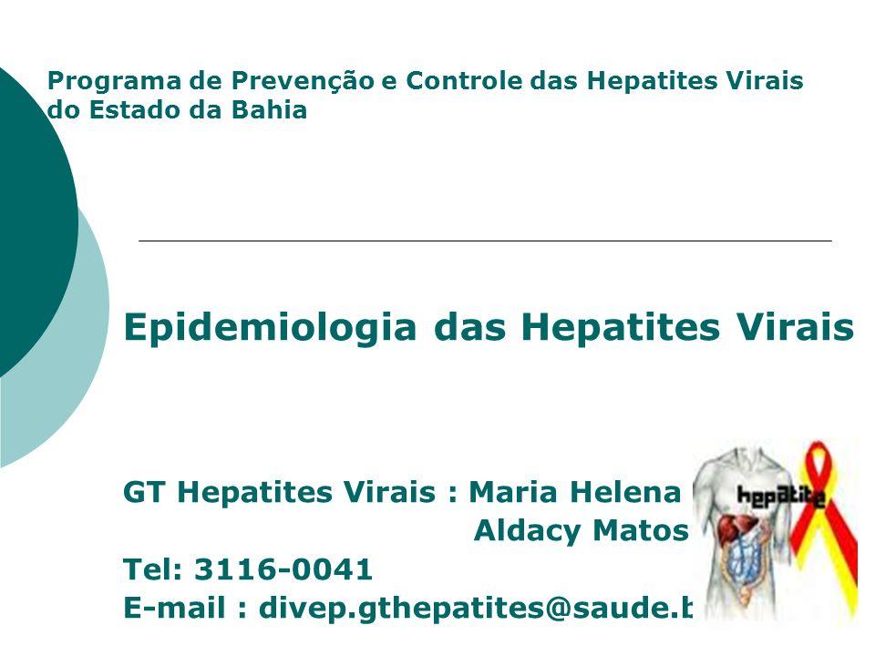 Epidemiologia das Hepatites Virais