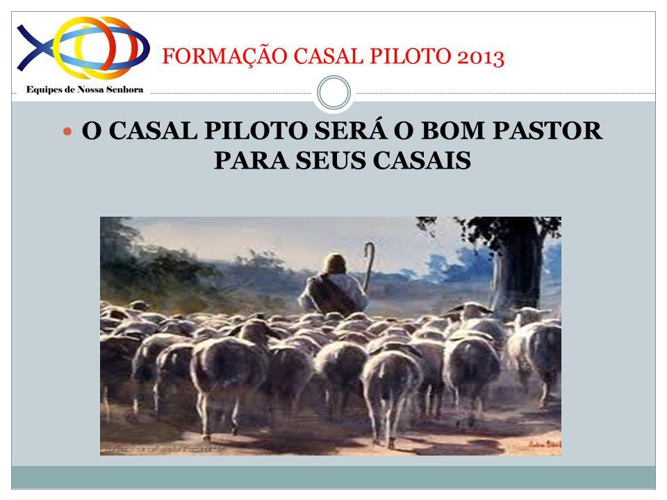 O CASAL PILOTO SERÁ O BOM PASTOR PARA SEUS CASAIS