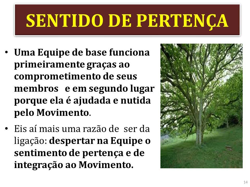 SENTIDO DE PERTENÇA