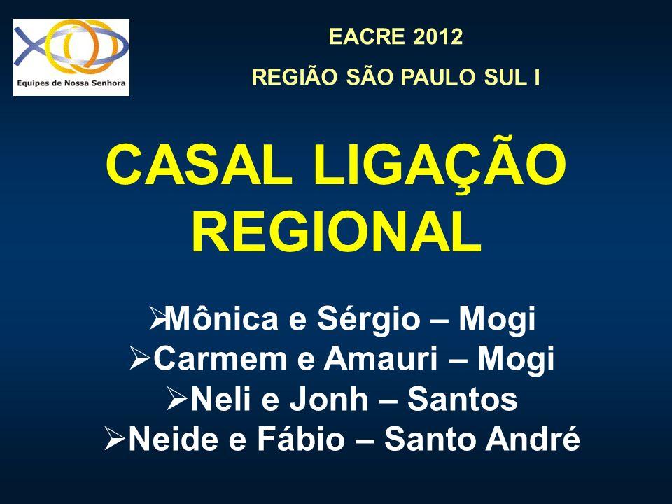 CASAL LIGAÇÃO REGIONAL Neide e Fábio – Santo André