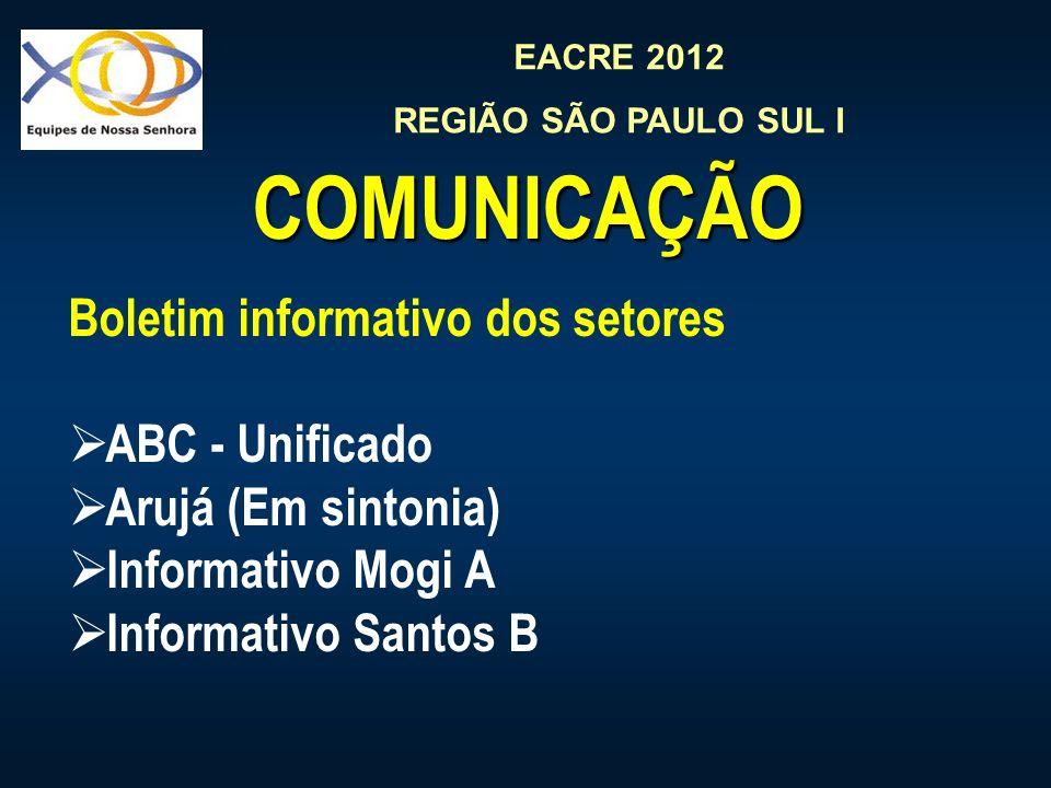 COMUNICAÇÃO Boletim informativo dos setores ABC - Unificado