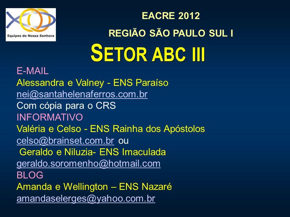 Setor abc iii E-MAIL Alessandra e Valney - ENS Paraíso