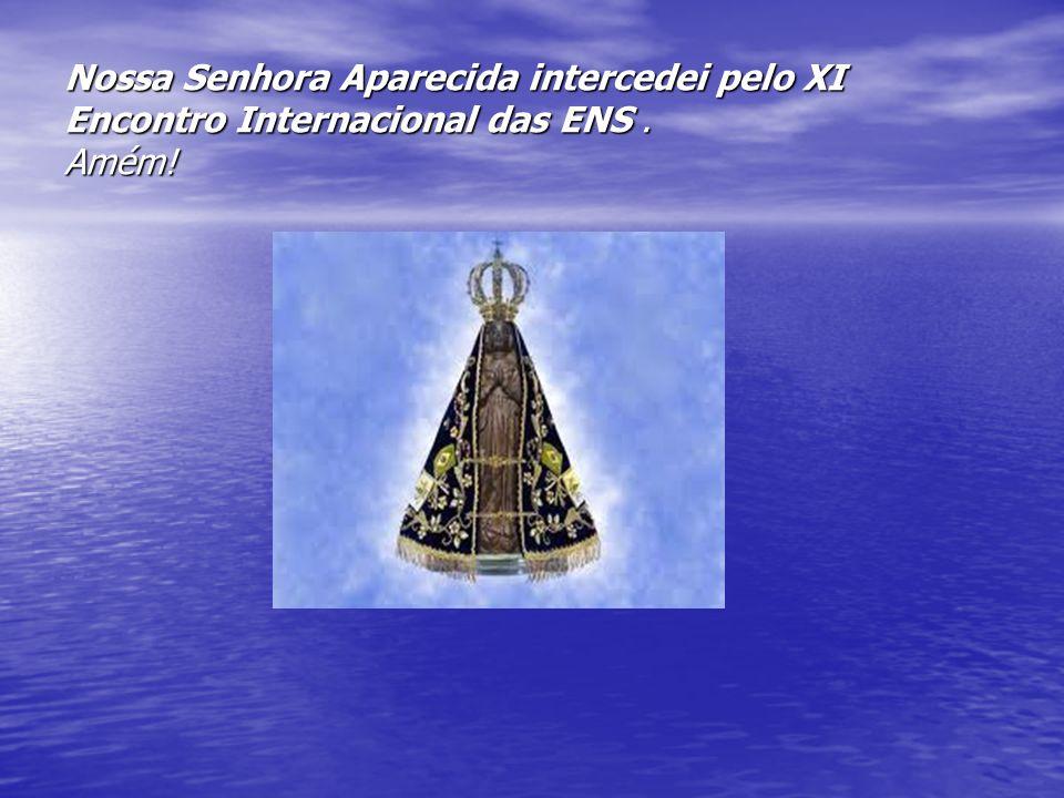 Nossa Senhora Aparecida intercedei pelo XI Encontro Internacional das ENS . Amém!