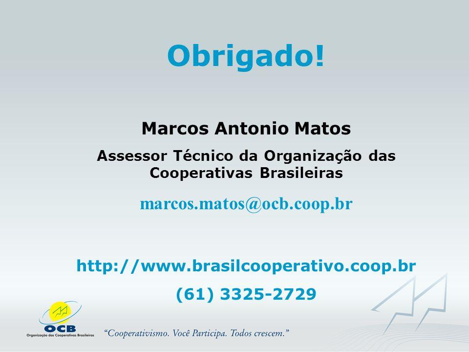Assessor Técnico da Organização das Cooperativas Brasileiras