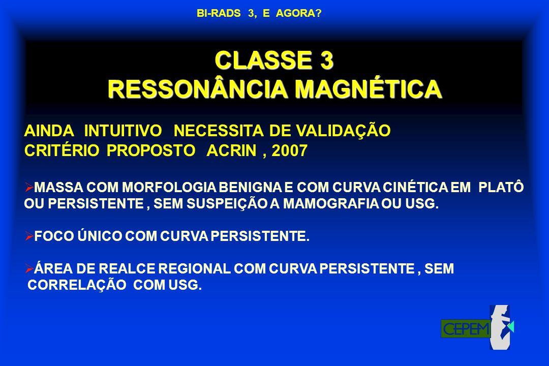 CLASSE 3 RESSONÂNCIA MAGNÉTICA