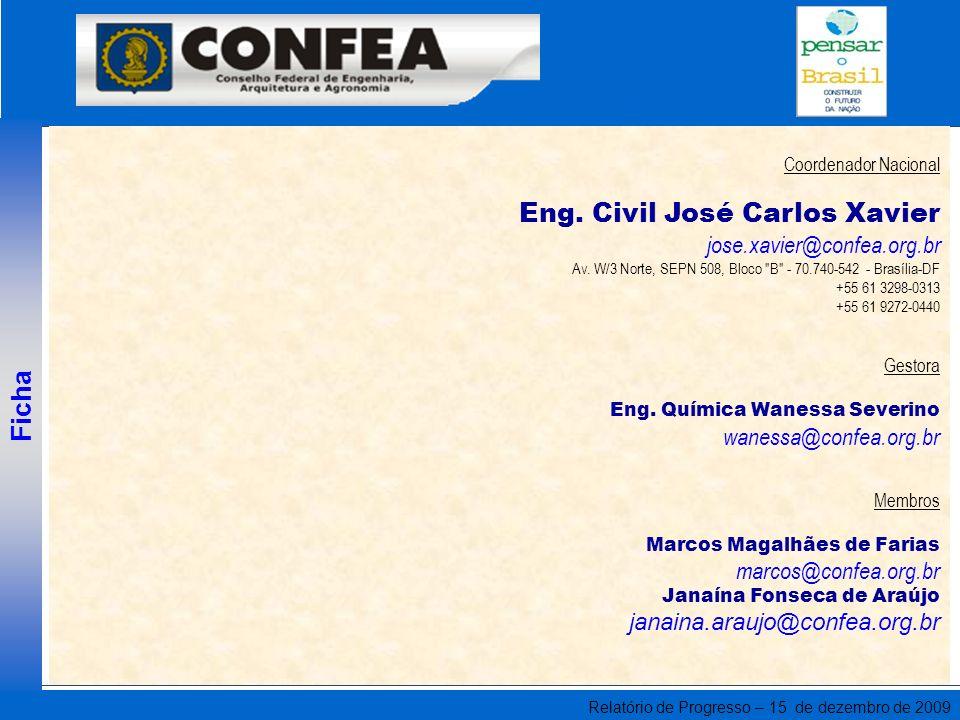 Eng. Civil José Carlos Xavier